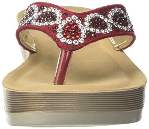 In Blu Desy, Flop para Mujer Rojo (Rosso)