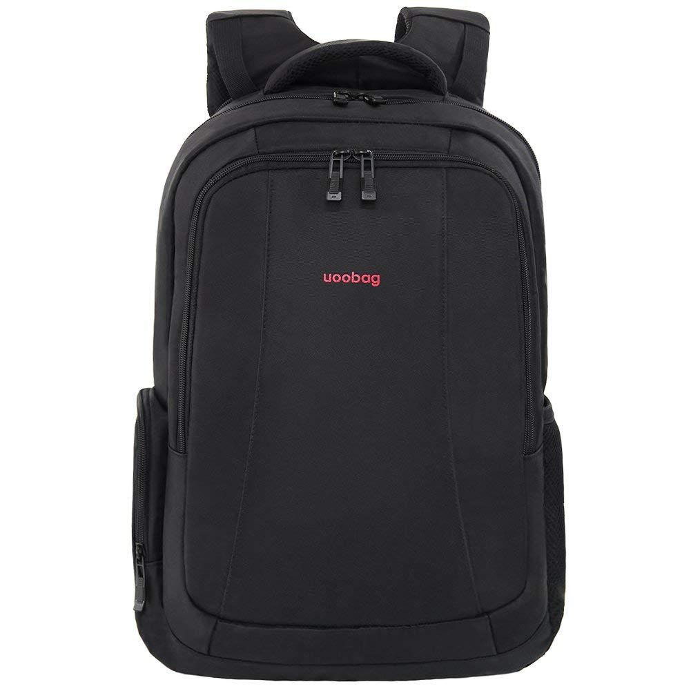 c1f39319aa2 Uoobag Tigernu Series Business Laptop Backpack Slim Anti Theft Travel  Computer Backpacks Environmentally Waterproof Laptops Bag For Men Women  15.6Inch Black