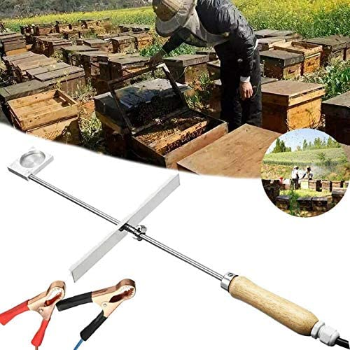 Varadyle Evaporizador de /ácido ox/álico para tratamiento de /ácaros de abeja Varroa herramienta de apicultura 12 V 150 W