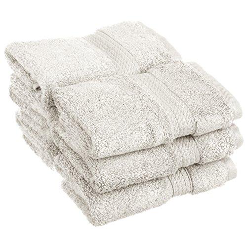 6-Piece Face Towel Set, Premium Long-Staple Cotton, 900 GSM, - Long Face