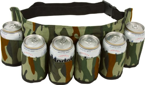 Animal Lover Pin Set - EZ Drinker Beer & Soda Can Holster Belt, Holds 6 Beverages