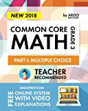 Argo Brothers Math Workbook, Grade 3: Common Core Multiple Choice (3rd Grade) 2017 Edition