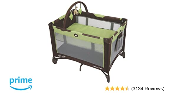 Amazon Graco Pack N Play On The Go Playard Go Green Baby