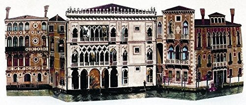 Palaces on the Grand Canal Venice Italy - Photographic Advent Calendar - By (Venice Grand Canal)