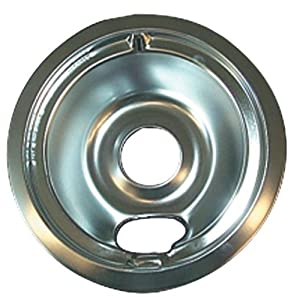 "RANGE KLEEN 119-A GE(R)/Hotpoint(R) Chrome Drip Pan, Style B (6"") from RANGE KLEEN"