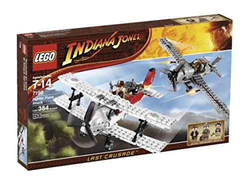 Lego Indiana Jones 7198 Fighter Plane Attack (Indiana Jones Fighter Plane)