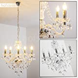 Modern chandelier with 5 lights - Pendant light for living room perfect above a dining table