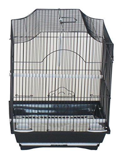 YML A1134BLK Cornerless Flat Top Cage, Small