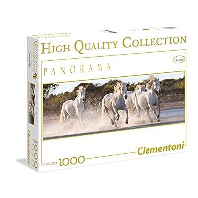 Clementoni 39371 Puzzle 1000 Panorama Hqc Running Horses