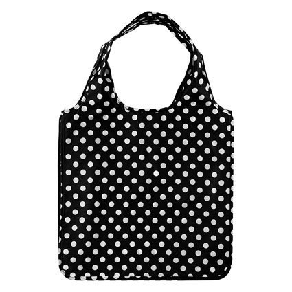 kate spade new york Resuable Shopping Tote, Black Dots