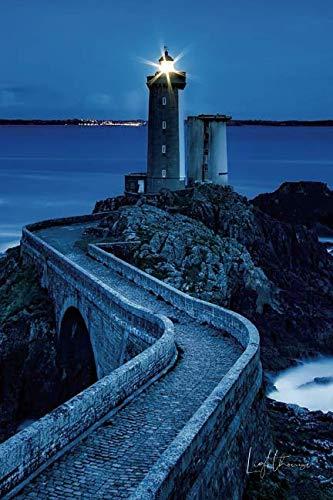 (Lighthouse: Petit Minou Lighthouse in Plouzané, France • Writing Journal • Notebook • Diary • Notepad )