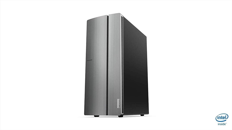 Lenovo Ideacentre 510-15ICB - Ordenador de sobremesa (Intel Core i5-8400, 8GB RAM, 512GB SSD, Intel HD Grahpics, Windows10) Plateado - Teclado QWERTY español + Ratón USB