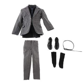 Amazon.es: P Prettyia Conjunto Vestido de Hombre de Ropa ...