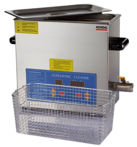 Kendal Commercial Grade Kendal 6 Liters 380 Watts HEATED ULTRASONIC CLEANER HB36