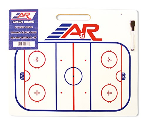 (A&R Sports Hockey Jumbo Coach Board with Handle)