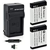 Smatree Batteries Charger Kit for Gopro Hero2 Digital Camera AHDBT-002 AHDBT-001