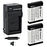 Smatree Batteries Charger Kit for GoPro Hero 1/2 Digital Camera
