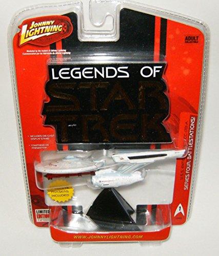 Legends of Star Trek USS Enterprise NCC-1701-A Series Four Starship - Enterprise Ncc 1701 Vehicle