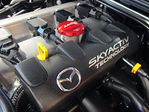 Mazda MX-5 Miata MX-5 2016 - 2017 nueva OEM rojo tapón de llenado de aceite 0000 - 8 m-d10: Amazon.es: Coche y moto