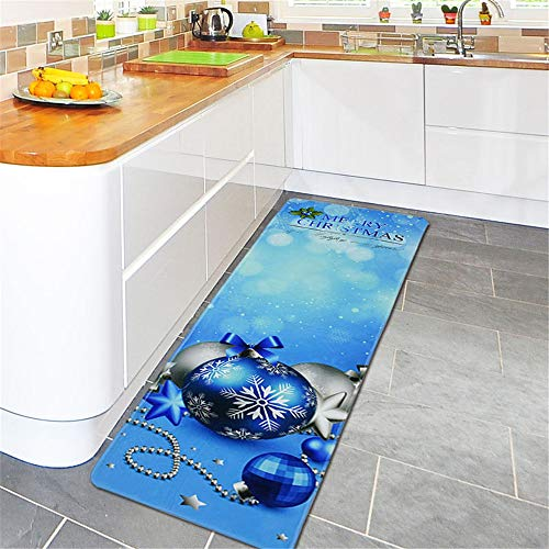 Kangma Anti-Skid Colorful Rugs Printed Cute Indoor Dining Carpet Home Room Bathroom Bathtub Doormats Area Rug 40x120cm & 60cm x 180cm/24 x 71 Inch