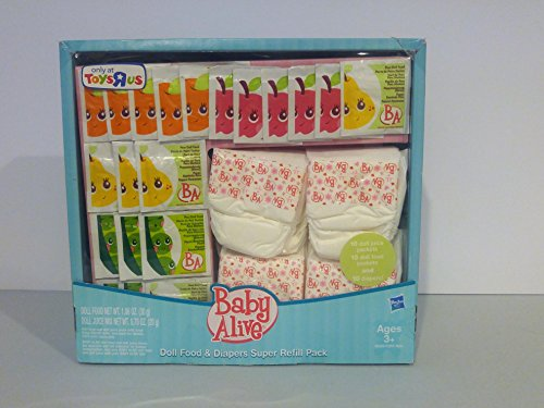 baby alive doll diapers and food - 3