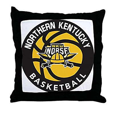 FiuFgyt Northern Kentucky NKU Norse Basketball Funny Throw Pillow Case Decorative Cushion Cover Sofa Couch 18 x 18