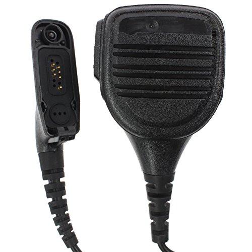 - Tenq Waterproof Handheld Lapel Shoulder Speaker Mic Compatible for Motorola Radio Xpr6550/6500 Xirp8268 Dp3400 Black New