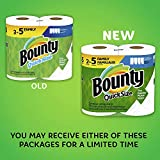 Bounty Quick-Size Paper Towels, 8 Family Rolls = 20