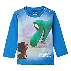 Disney Palace Blue Printed T-Shirt - 9-12 Months