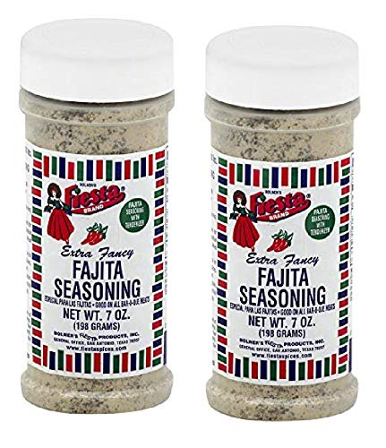 Bolner's Fiesta Fajita Seasoning, 7 Ounces (Pack of 2)