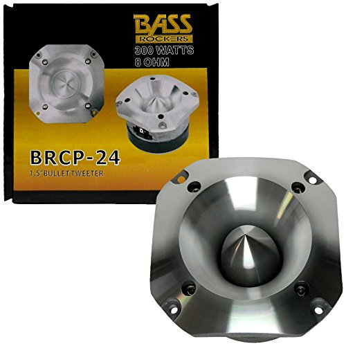 Bass Rockers 1.5'' 300W 8-Ohm Bullet Tweeter BRCP-24 by Bass Rockers
