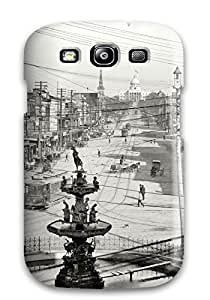 Awesome Case Cover/galaxy S3 Defender Case Cover(black And White)