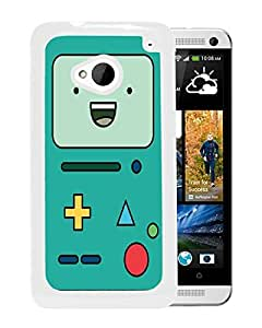 Customized Beemo Adventure Time HTC One M7 White Case