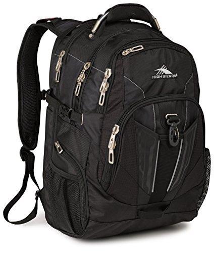 High Sierra XBT TSA Laptop Backpack Black [並行輸入品]   B07HRN2ZX9