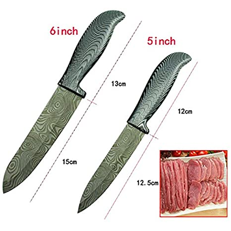 Amazon.com: findking Juego de cuchillos y accesorios de ...