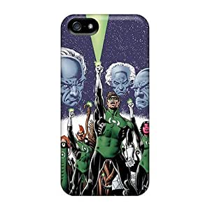 Rosesea Custom Personalized Fashion Cases For Iphone 5 5s- Green Lantern Corps Defender Cases Covers