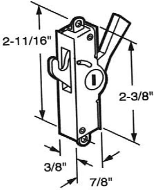 Prime Line #e-2029 Sliding Patio Door Internal Lock
