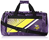 FOCO NFL Unisex Border Stripe Duffle Bag