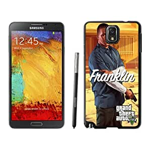 Custom and Personalized Cell Phone Case Design with GTA 5 Franklin with Glock Galaxy NOTE 3 N900P Wallpaper