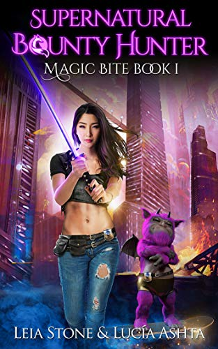 Magic Bite (Supernatural Bounty Hunter Series Book 1) (Best Vampire Bite Scenes)