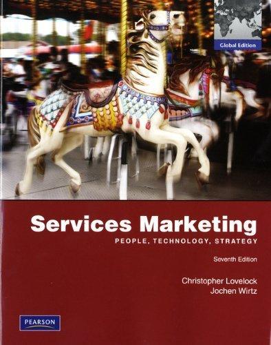 Services Marketing by Lovelock, Christopher, Wirtz, Jochen (2011) Paperback