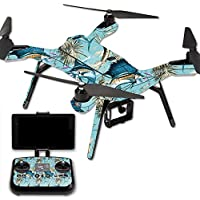 Skin For 3DR Solo Drone – Island Fish | MightySkins Protective, Durable, and Unique Vinyl Decal wrap cover | Easy To Apply, Remove, and Change Styles | Made in the USA