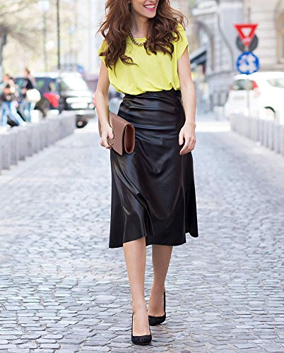 ANNA GRACE - Bolso pequeño al hombro de Satén para mujer Design 1 - Champagne