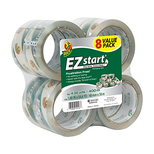 Duck EZ Start Packing Tape 8 Pack Now $11.39