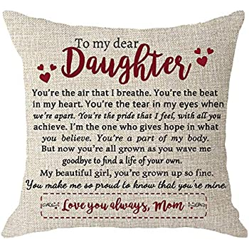 LINKWELL 18inches Square Black I Love That You are My Grandma Linen Throw Pillow Case Cushion Cover Linkwell Home Decor CC900