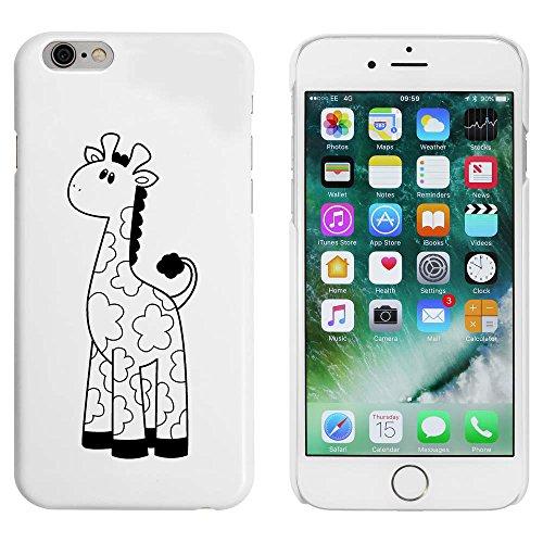 Blanc 'Mignon Girafe' étui / housse pour iPhone 6 & 6s (MC00053698)
