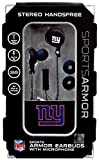 NFL Sports Armor New York Giants Earbuds [with Microphone]