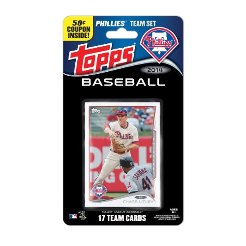 (Topps MLB Philadelphia Phillies 2014 Team Set Trading Card)