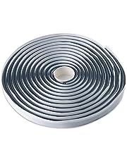 LLPT Butyl Sealant Tape Diameter 9mm x 16,5 Voet Rubber Luchtdichte Waterdichte Afdichtingstape voor Auto Vrachtwagen Koplampen Venster Deur Voorruit Huishoudelijke Apparaat Panelen (BSC095)