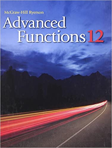 Advanced Functions 12 Mcgraw Hill Ebook